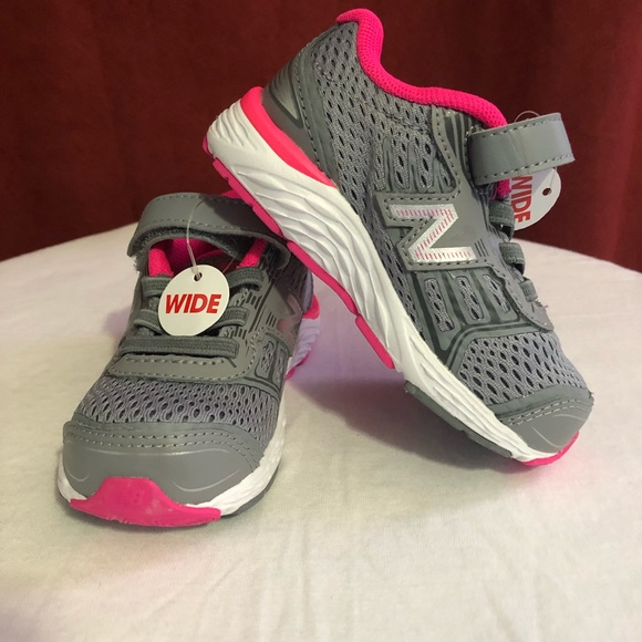 7ea22ddc819d7 New Balance Shoes | Toddler Girls 6 Wide Sneakers | Poshmark